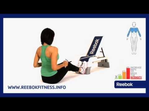 Reebok Fitness Ćwiczenia Online: Reebok Deck - Podciąganie Linki W Pozycji Siedzącej