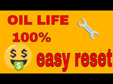 how to reset oil life , maint reqd light , service wrench ...