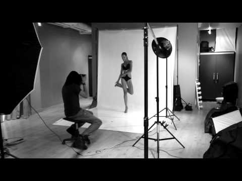 Herman V.Brandt Photography bts fashion photoshoot with model Godeliv