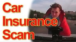 Stupid Car Insurance Scammer Compilation | never drive w/o dashcam in Russ## and Chi##