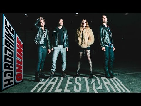LZZY and AREJAY from HALESTORM talk about making INTO THE WILDLIFE