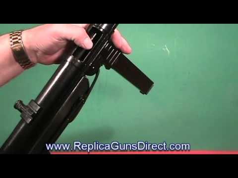MP 40 Schmeisser Machine Gun