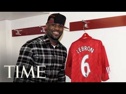 Lebron James as a Global Brand - Time