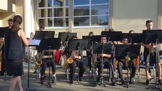 Claremont Jazz Band Spring cafe