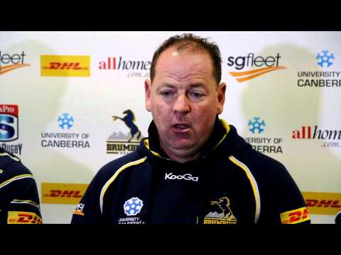 Brumbies Jake White previews clash with Waratahs - Brumbies Jake White previews clash with Waratahs