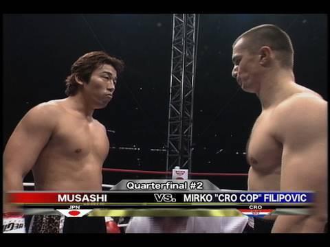 Musashi vs. Mirko CroCop - K-1 GP '99 FINAL