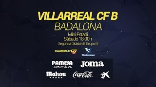 Villarreal B - Badalona