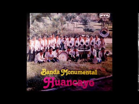 GRAN BANDA INTERNACIONAL MONUMENTAL HUANCAYO 1979 - PASCUA  DE ACOBAMBA..3LP