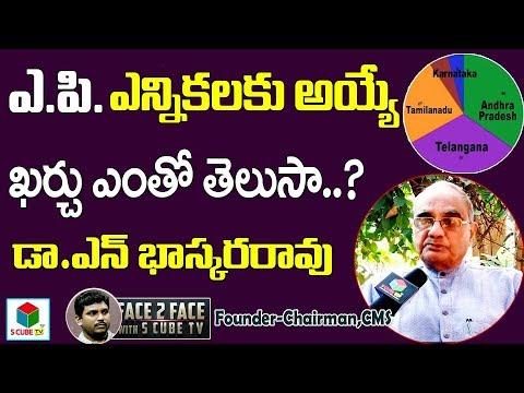 ఎన్నికలు  ఖర్చు ప్రభావం-Dr N.Bhasker Rao About Andhra Pradesh Elections | TS Elections | S Cube TV