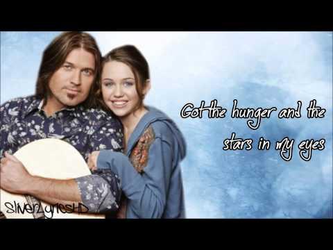 Billy Ray Cyrus - Ready, Set, Don't Go (ft. Miley Cyrus) - Lyrics