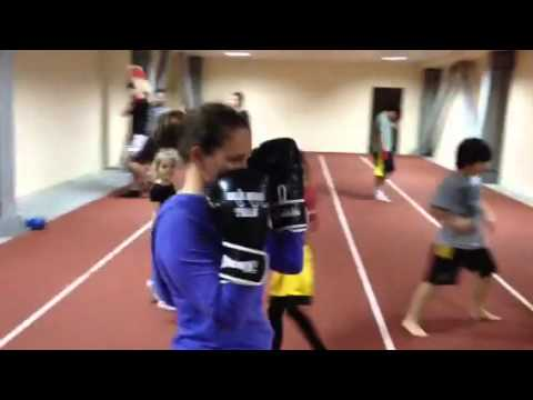 Halis Av�ar Team Kick Boks Training