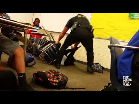 South Carolina officer's use of force against student sparks social media outrage