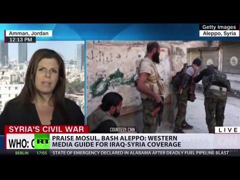 Praise Mosul, bash Aleppo: Western media guide for Iraq-Syria coverage