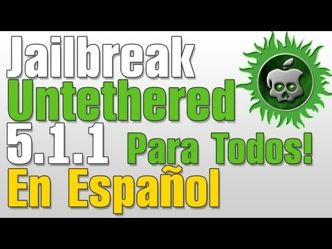 Jailbreak 5.1.1 Untethered En Español iPhone. iPod Touch. iPad. Apple TV Absinthe 2.0.4