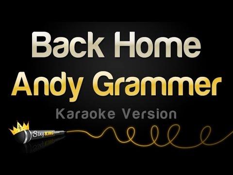 Andy Grammer - Back Home (Karaoke Version)