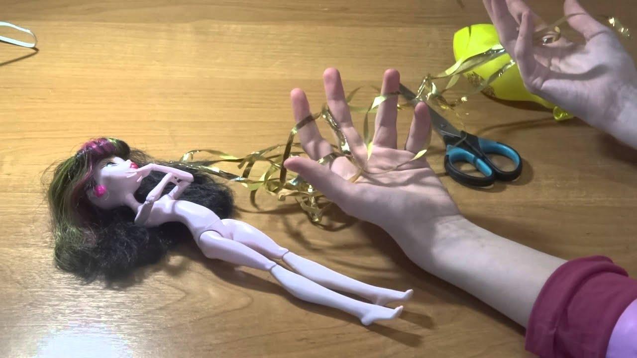 Как сделать теневую куклу