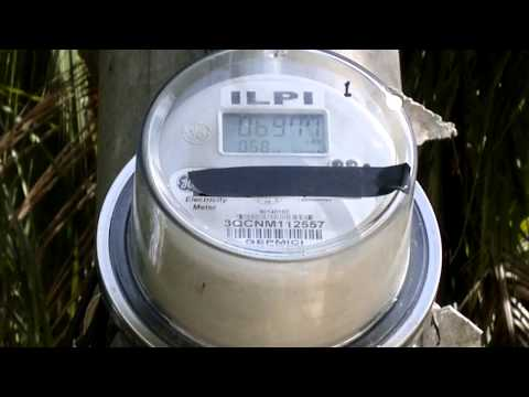 Effects of Grid Tie Inverter on GE-i210 Digital Electric Meter (Kwentador) in the Philippines.....