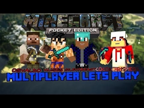 Minecraft PE Multiplayer Lets Play #11 Trolling Ulises