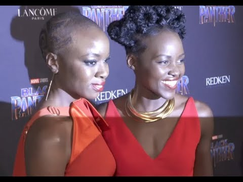 BLACK PANTHER: New York Fashion Week Party with Lupita Nyong'o