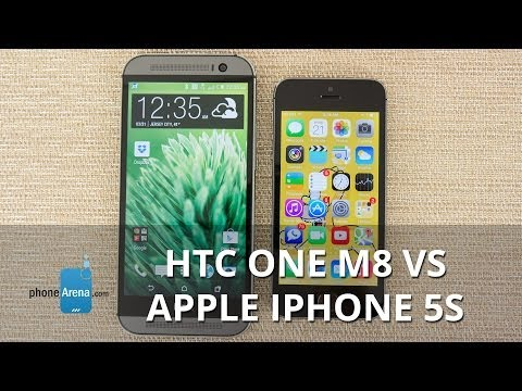 HTC One M8 vs Apple iPhone 5s (2)