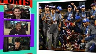 Team USA Celebrates World Baseball Classic Title With Champagne Showers!! I TMZ SPORTS