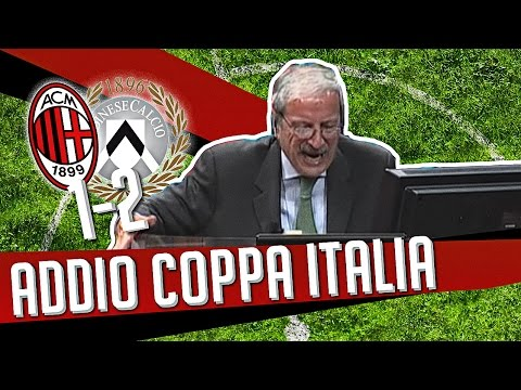 DS 7Gold - (MILAN UDINESE 1-2) ADDIO COPPA ITALIA