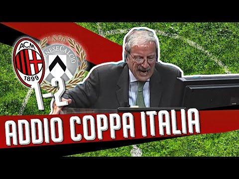 DS 7Gold - (MILAN UDINESE 1-2) ADDIO COPPA ITALIA