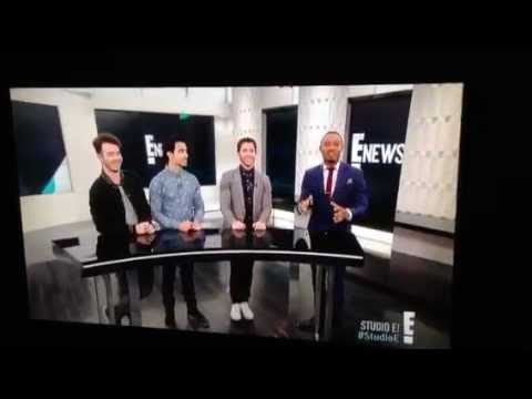More Jonas Brothers on e!