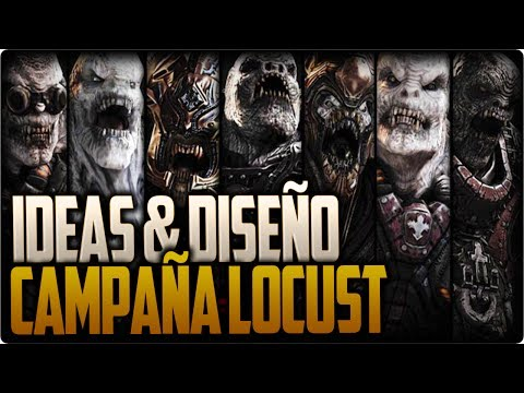 Ideas para una campaña locust - Gears of War
