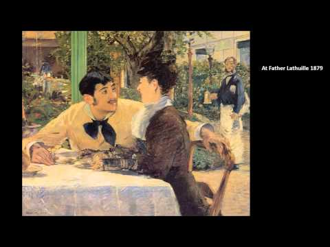 Manet, Edouard Part Two 3/4 Art Lecture by dr. christian conrad