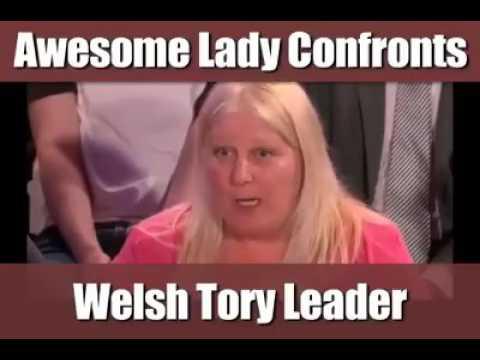 Working class woman demolishes smug welsh Tory thumbnail