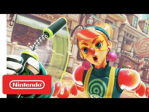 ARMS - Introducing Lola Pop - Nintendo Switch