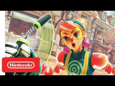 ARMS - Introducing Lola Pop - Nintendo Switch