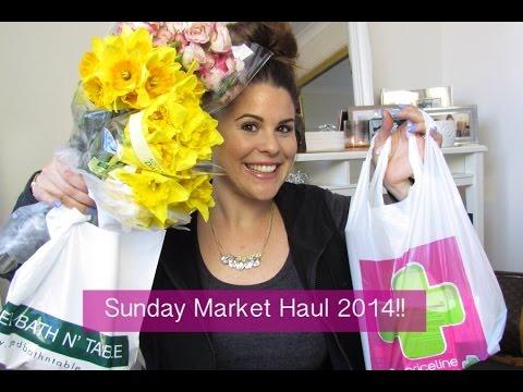 Sunday Market Haul 2014!!