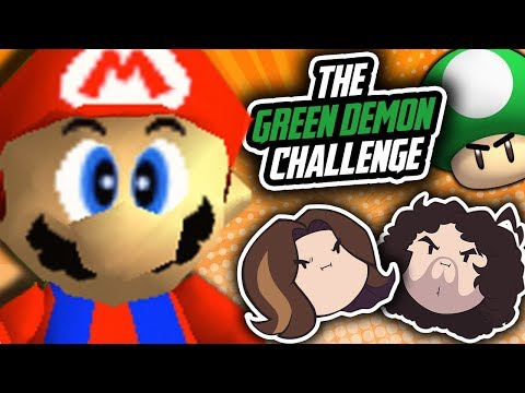 Super Mario 64 Green Demon Challenge: Harnessing the Power - PART 2 - Game Grumps
