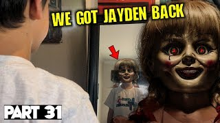 Evil Doll Annabelle mailed to us FREAKS US OUT and haunts us like a SCARY CLOWN - Part 31
