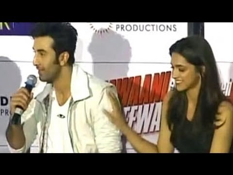 Ranbir snaps at reporter for asking Deepika a 'silly' question