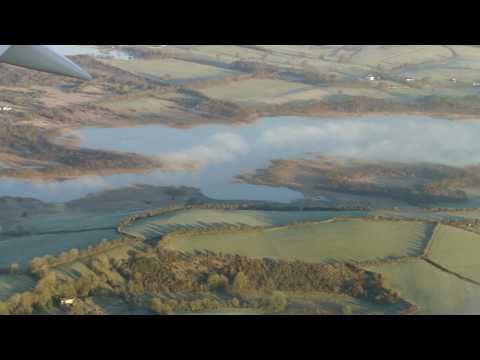 Plane Landing in Shannon, Ireland