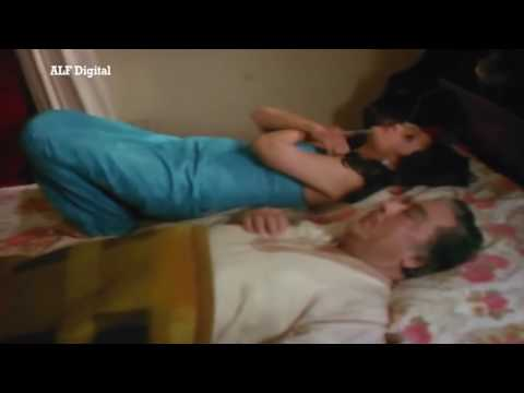 Indian Hot & Sexy Actress Moon Moon Sen OTS Carry By A Goon...