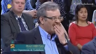 Tertuliano  Eugenio Narvaiza pierde la dentadura en Directo en  13tv - Ciudadanos  (Video Original)
