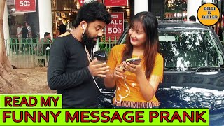READ MY FUNNY MESSAGE PRANK || EPISODE - 19 || DILLI K DILER