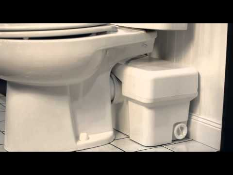 Liberty Pumps Ascent Ii Gpf Macerating Toilet System Install A Bathroom Anywhere How To