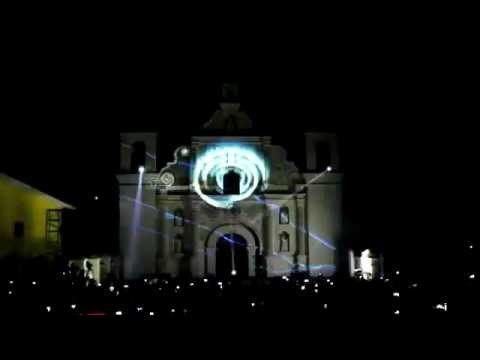 VIDEO MAPPING - Gracias Lempira - Honduras 2015
