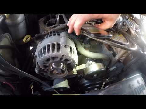 How To Install Replace Serpentine Belt Chevy GMC S10 Blazer Jimmy & Pickup 4.3L 98-04