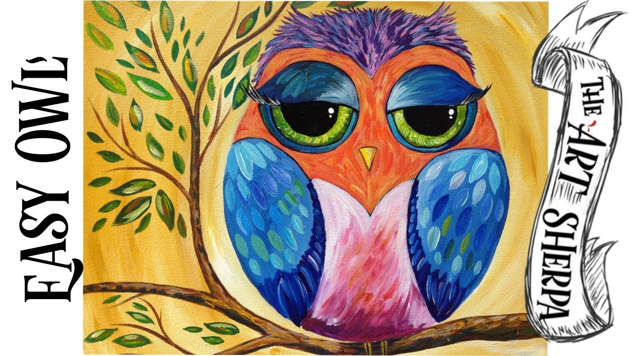 Colorful Owl Diamond Painting  YouTube
