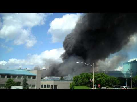 Verso Paper Mill Fire, Memorial Day 2012