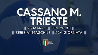 Serie A1M [22^]: Cassano Magnago - Trieste 28-17
