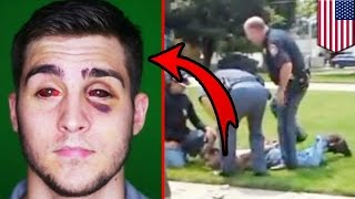 Police fail: Cops beat up wrong guy then charge him anyway in mistaken ID lawsuit - TomoNews