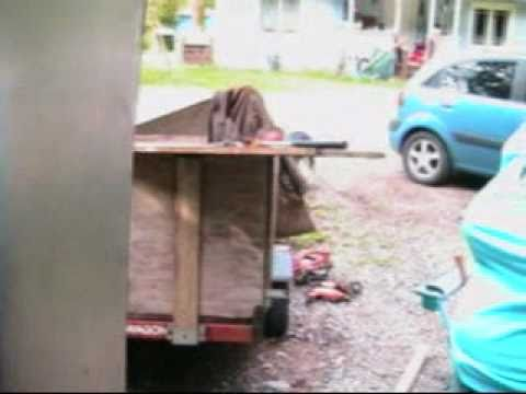 bending sheet metal without a brake .wmv