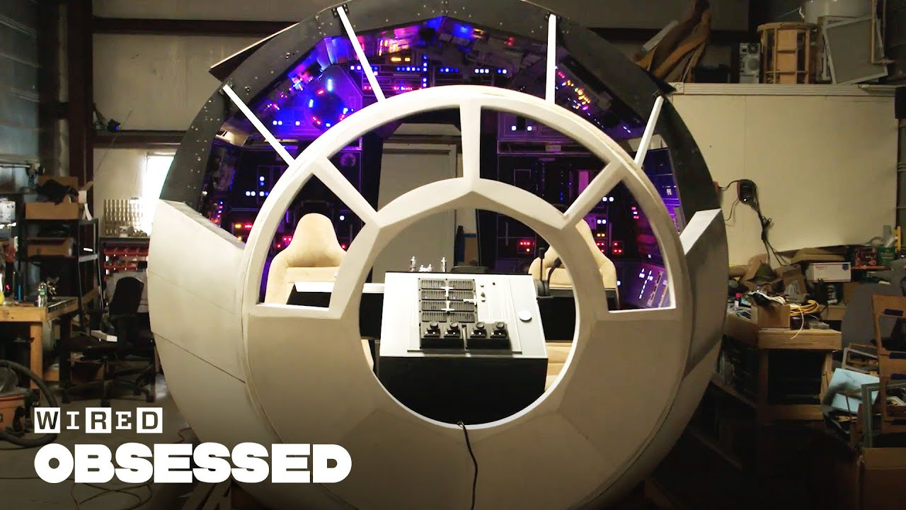 How These Star Wars Fans Are Building a Full-Size Millennium Falcon Cockpit | WIRED